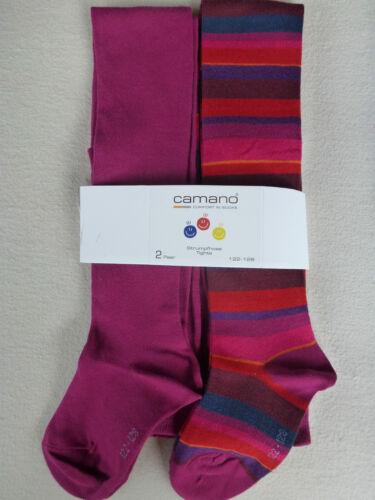 Camano 2er Pack Children Tights Cotten 80/% Cotton Tights Size 86-164