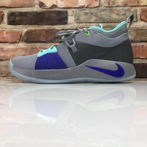 Nike Pure 002 Aj2039 Neo Platinum Paul Turquoise 10 Pg George 2 Size Mens BxerdCo