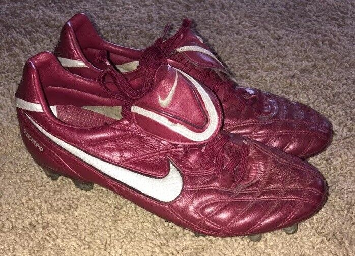 Nike Tiempo Legend III FG Firm Ground Football Boots Cleats 366201-606 SZ US 8