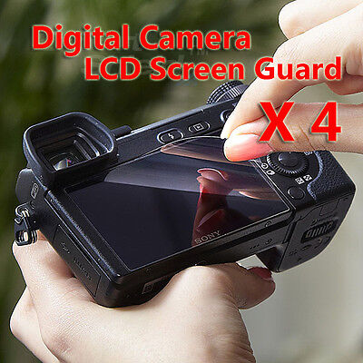 4 x DSLR Digital Camera LCD Screen Guard Protectors For Nikon D5500 D5300