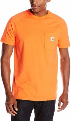 Regular and Big /& Carhartt Men/'s Force Cotton Delmont Short Sleeve T-shirt