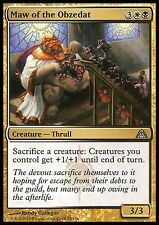 Maw of the Obzedat NM X4 Gold Uncommon Dragon's Maze MTG Magic Cards