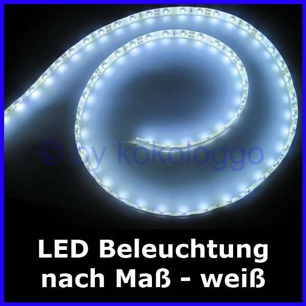 S333 LED Lighting To Measure From 5cm To 500cm White F Houses Wagons RC Models