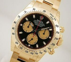 Rolex-Cosmograph-Daytona-116508-Yellow-Gold-Black-Paul-Newman-Dial-40mm-Watch