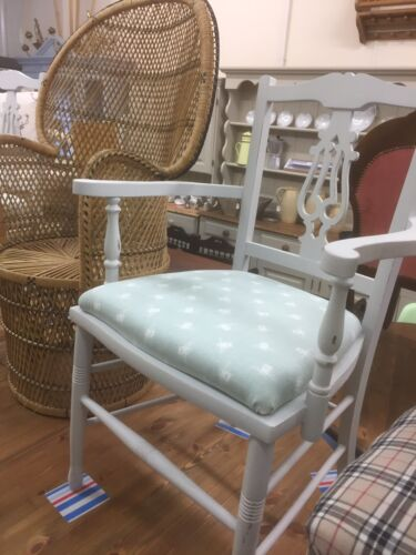 2xPainted Antique Edwardian Chairs,100s Furniture Listed,Oak,Kent Showroom.