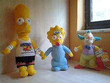 "20th Century Fox Simpson Bart 13"" Maggie 9"" Krusty 8.5"" Plush 3+, Boys & Girls"