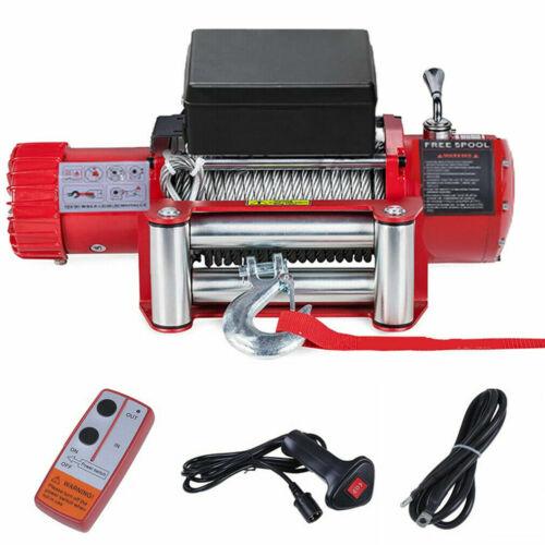 Funkfernbedienung uy 12V Elektrische Seilwinde 5909 KG Motorwinde Offroad