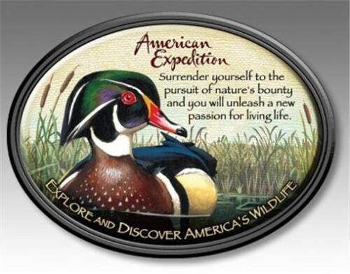 American Expedition Wood Duck Wildlife Magnet Fridge Car Men/'s Father Gift