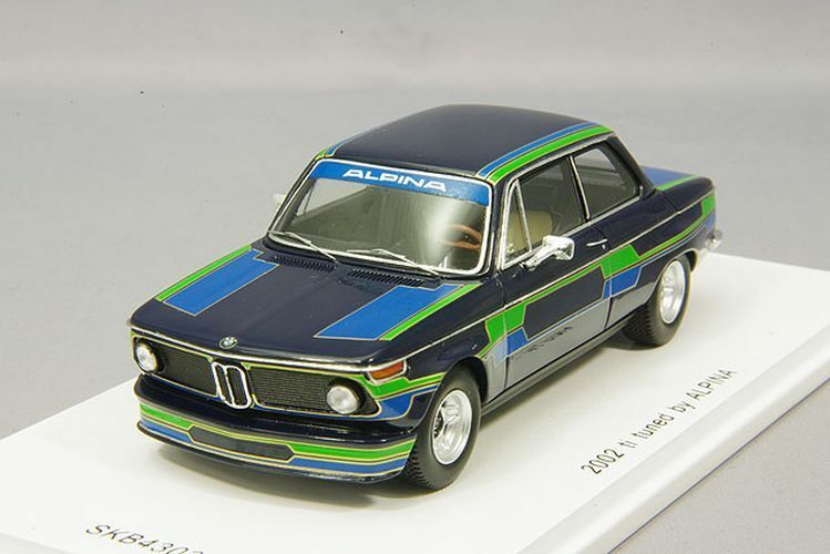 Spark 1 43 BMW 2002 ti 1971 tuned by ALPINA from Japan