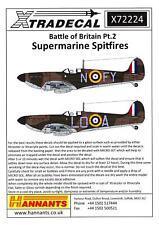 Xtra Decals 1//48 HAWKER HURRICANE Mk.I 75th Anniversary Battle of Britain Part 2