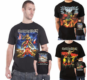 Iron-Maiden-T-Shirt-Book-Of-Souls-Tour-Telecharger-Nordic-2016-Legacy-officiel-Homme