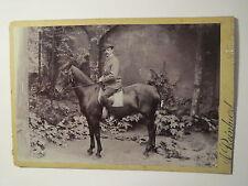 Neustadt a.d. Haardt - Mann mit Hut auf einem Pferd - Reiter / KAB