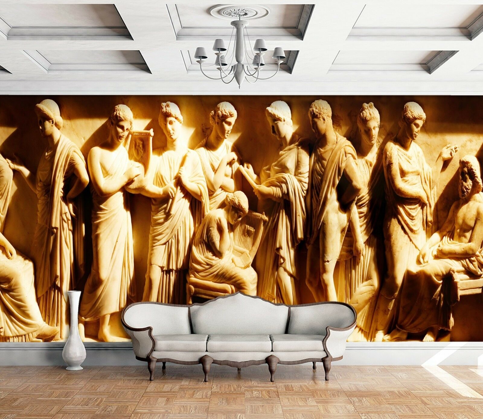 3D History People Relief 4 Wall Paper wall Print Decal Wall Deco Indoor Mural