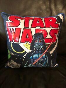Vader /& Storm Trooper Face Star Wars Darth Vader Plush Throw Pillow Home Decor