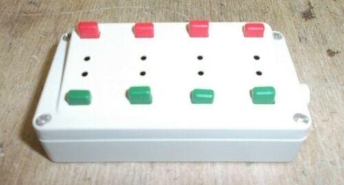 Märklin H0 72720 weißes Stellpult für Magnetartikel schmale Stecker