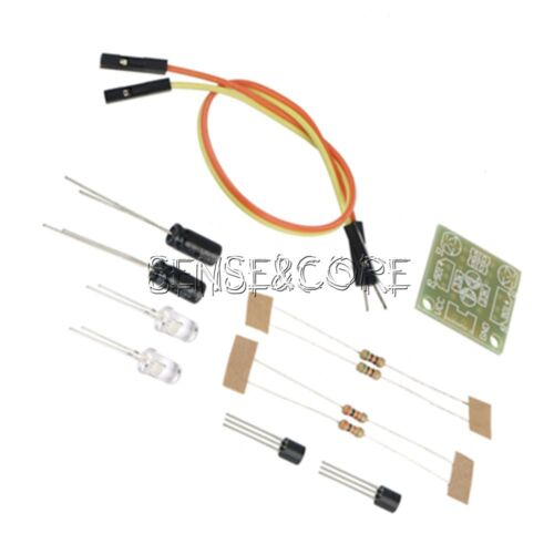 5mm LED Einfache Flash Light Einfache Blitzschaltung DIY Kit New