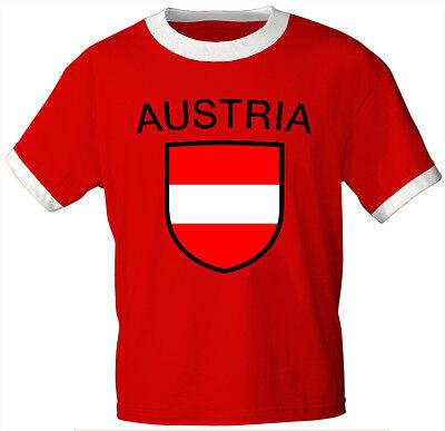 (76004) Länder T-SHIRT Gr. S M L XL XXL unisex Wappen • Austria • ÖSTERREICH