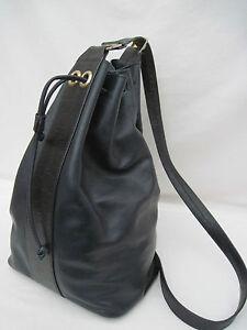 cf6df3b685 AUTHENTIQUE sac bandoulière mono bretelle POURCHET cuir TBEG vintage ...