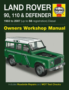 land rover defender 90 110 td5 diesel haynes manual new ebay rh ebay com land rover discovery 2 td5 workshop manual pdf land rover discovery ii td5 workshop manual