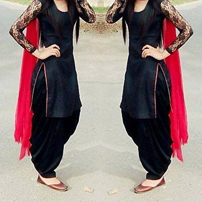 Indian Stylish Designer Punjabi Patiala Suit Salwar Kameez Dress Material Women.