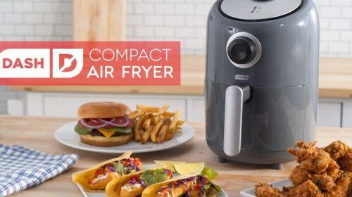 Freidora De Aire Compacta Electrica 1.2 L Antiadherente Cocina Saludable