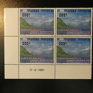 Polynesia-French-Pa-N-162-Coin-Date-Neuf-Luxe-Original-Gum-Mnh