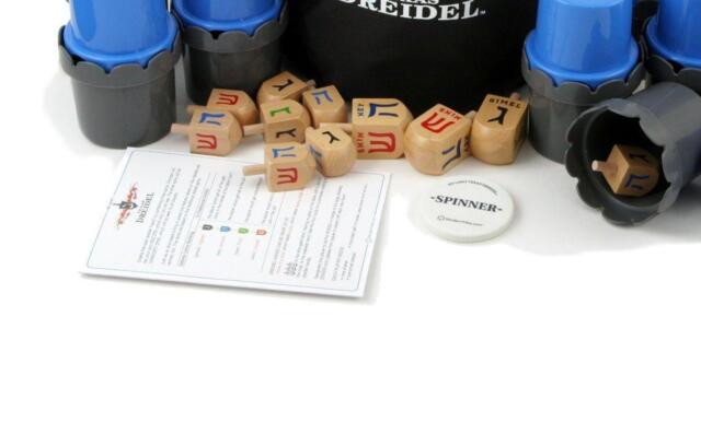 1 Wooden DREIDEL................ ideal traditional Chanuka toy for kids or Adult