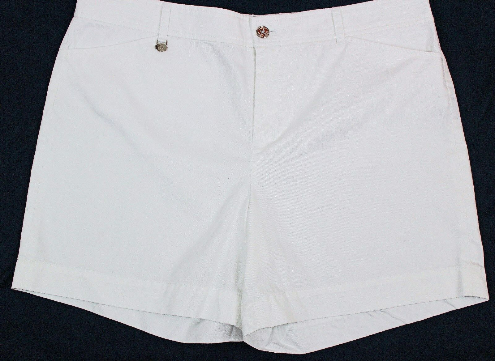 Ladies Lauren Ralph Lauren White Shorts NWT
