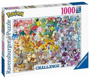 POKÉMON™ - POKEMON CHALLENGE - Ravensburger Puzzle 15166 - 1000 Teile Pcs.