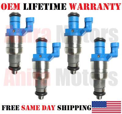 4//Set Rebuilt Fuel Injectors />2004/< SAAB 9-3 2.0L I4/< OEM Siemens Part# 12790827