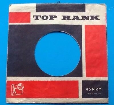 Company Record Sleeve Discounts Sale Storage & Media Accessories Replica Of Original Used Early Top Rank Label