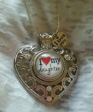 I LOVE MY DAUGHTER  -  SNAP BUTTON ♡ NECKLACE - MY DESIGN