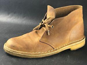 Details About Clarks Originals Desert Men S Tan Boots Size Us 7 5 Eu 40 41 Uk 7