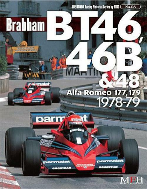 Mfh Libro No8 Brabham Bt46.46b/48 1978-79 All 80 Page Reference Libro