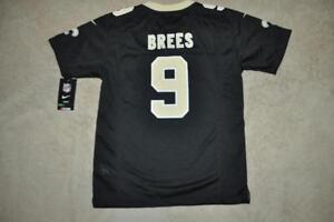 a0c8e8e19 Drew Brees New Orleans Saints Nike Youth Jersey Medium 10 12 Black ...