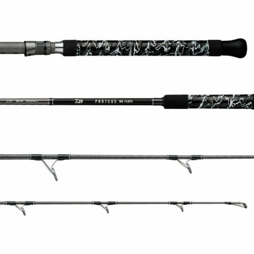 8/' Heavy Action Spin PRWNC80HFS New Daiwa Proteus WN Boat Rods Fast Taper