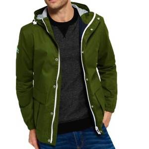Harbour Mens Superdry Ship Veste Manteau Green New York Internationalement Navy fWTqnxSTw