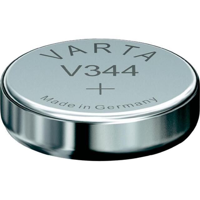 Varta 1 Pila de Reloj Botón V344 344 SR1136SW 1,55v