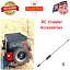 Antenna aerial CB 1//10 scale RC accessories SCX10 Car Rock Crawler D90 TRX4