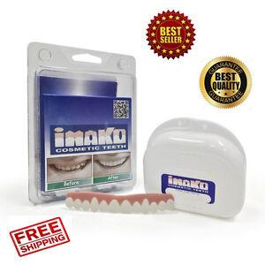 Imako Cosmetic Upper Teeth Secure Instant Natural Smile Snap On Veneers Beauty