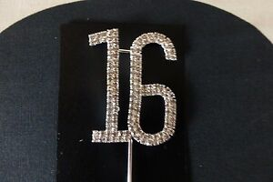 ANNIVERSARY-PARTY-NUMBER-16-CUPCAKE-TOPPER-BIRTHDAY-DECORATION-16TH-DIAMANTE