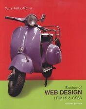 Basics Of Web Design Html5 Amp Css By Terry Felke Morris 9780135225486 Brand For Sale Online Ebay