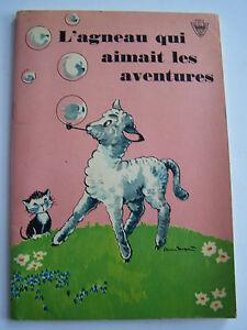 2-livres-de-la-collection-bunny-LE-PETIT-ANE-DU-CIRQUE-ET-L-039-AGNEAU-QUI-AIMAIT