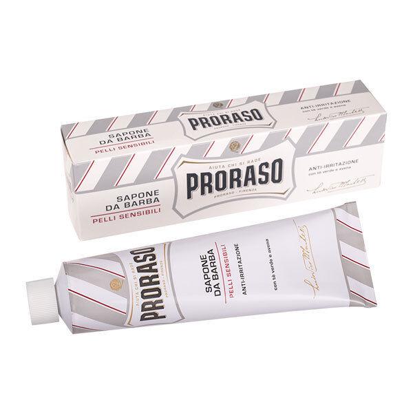 Proraso Shaving Cream, NEW WHITE TUBE, 150ml tube - Sensitive Skin