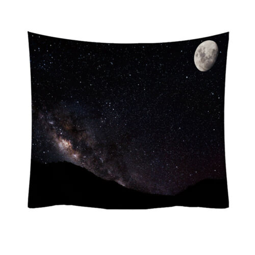 Starry Sky Forest Tapestry Art Print Wall Hanging Tapestry Room Home Wall Paint
