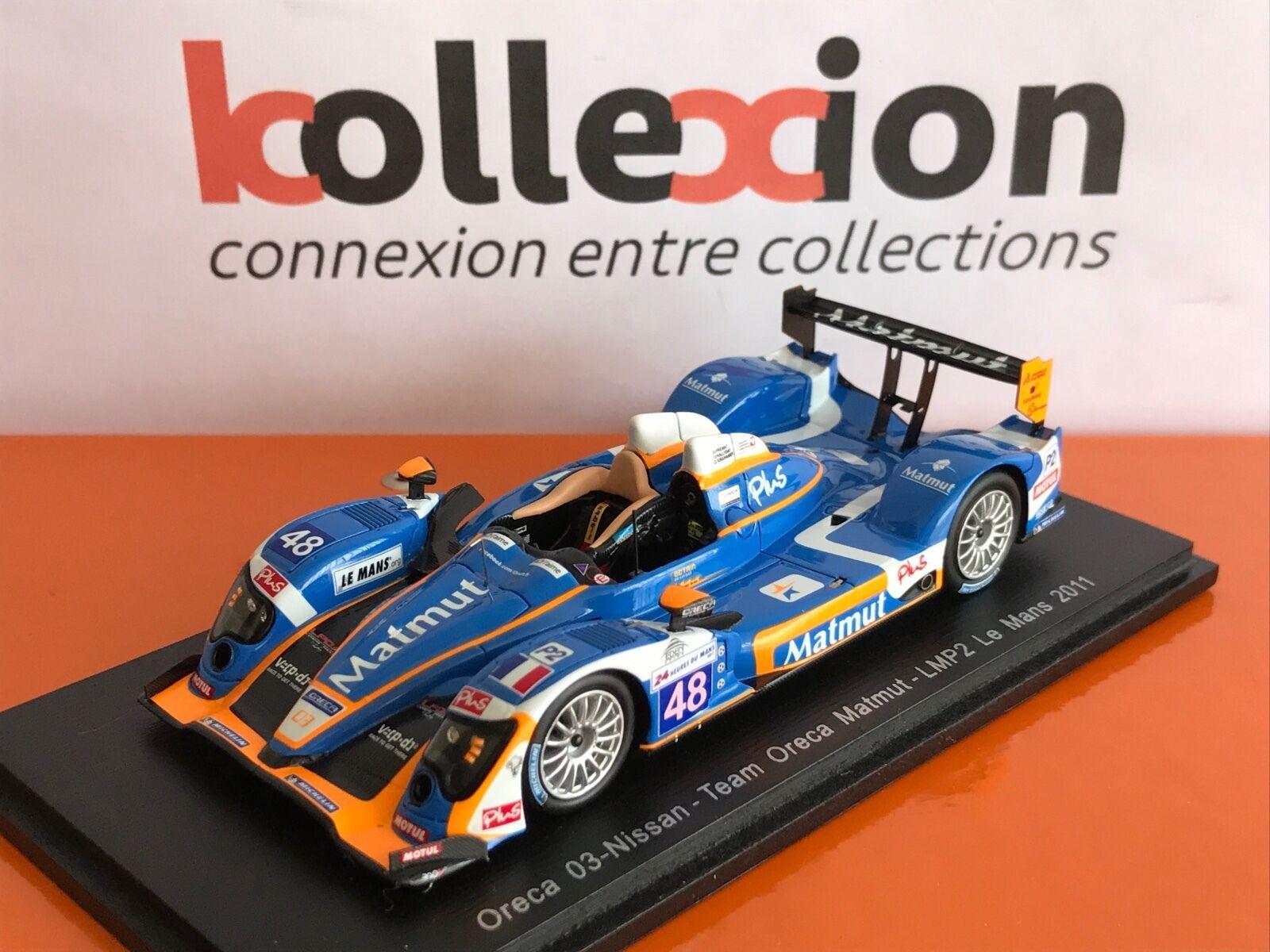 Spark S4456 Oreca 03-Nissan LMP2 N.48 le Mans 2011 1.43