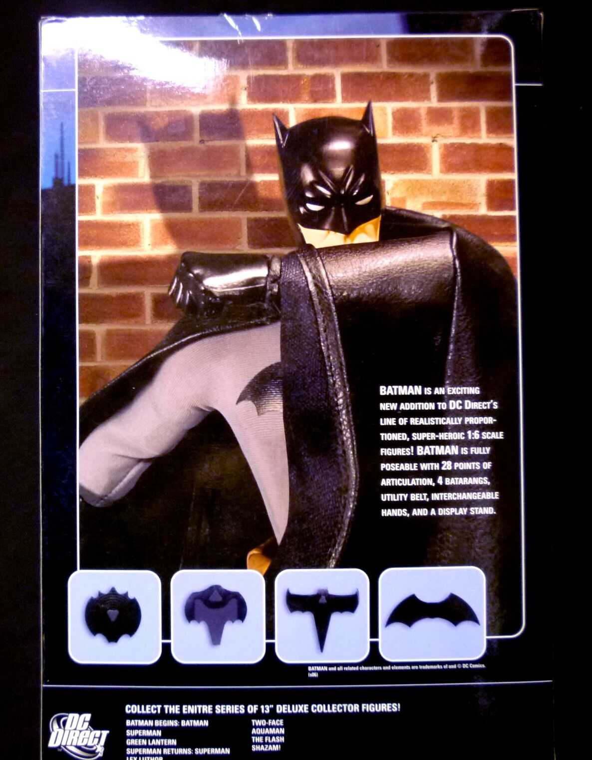 DC DC DC Comics Batman 13 Inch Deluxe Boxed Action Figure 1 6 Scale New 6b4bfe