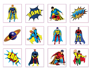 72 Childrens Super Hero  Princess Temporary Tattoos Loot Party Bag Filler Kids