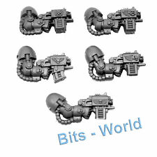 WARHAMMER 40K BITS: SPACE MARINES TERMINATOR SQUAD - ARMS with STORM BOLTERS 5x