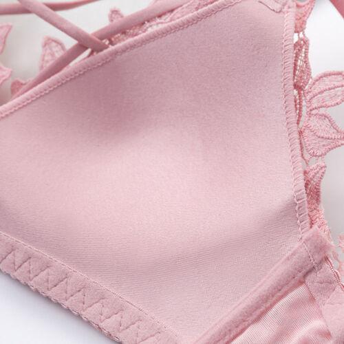 Everyday Women Bras Seamless Wireless Lace Light Padded Brassiere Tops Lingerie